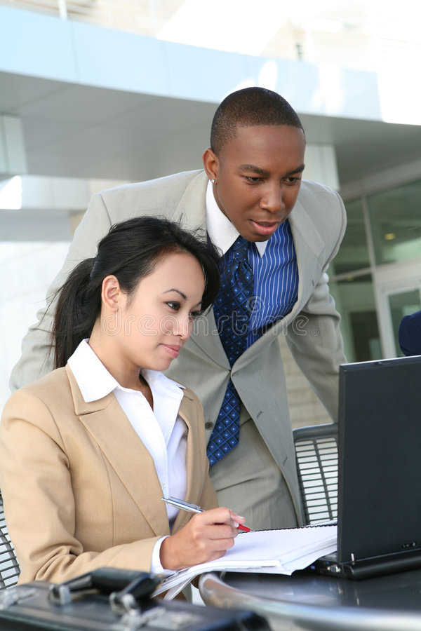 Diverse Business Group stock photography