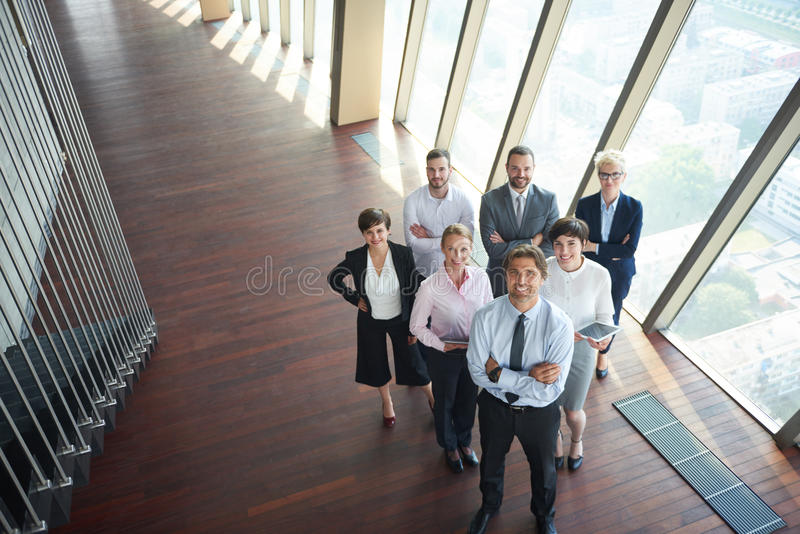 Diverse business people group stock image