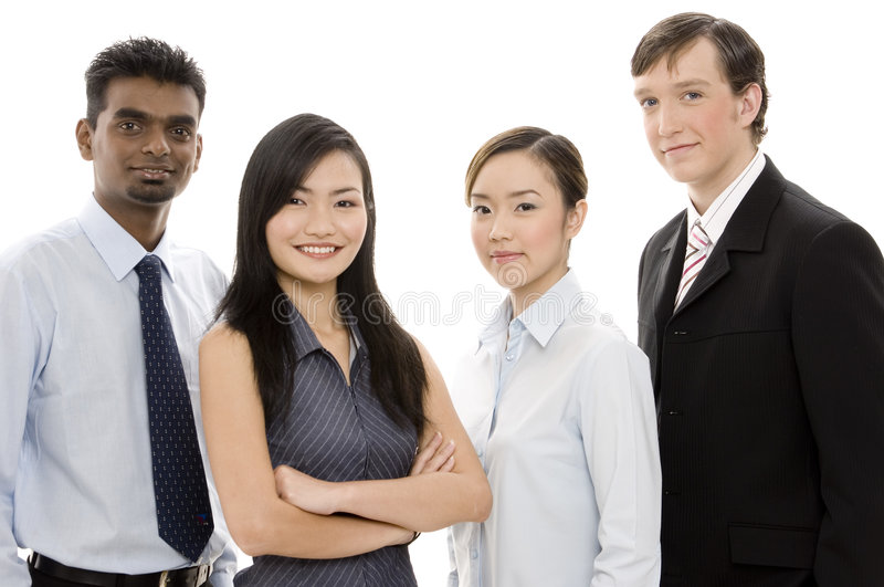 Diverse Business Team 1 Stock Images