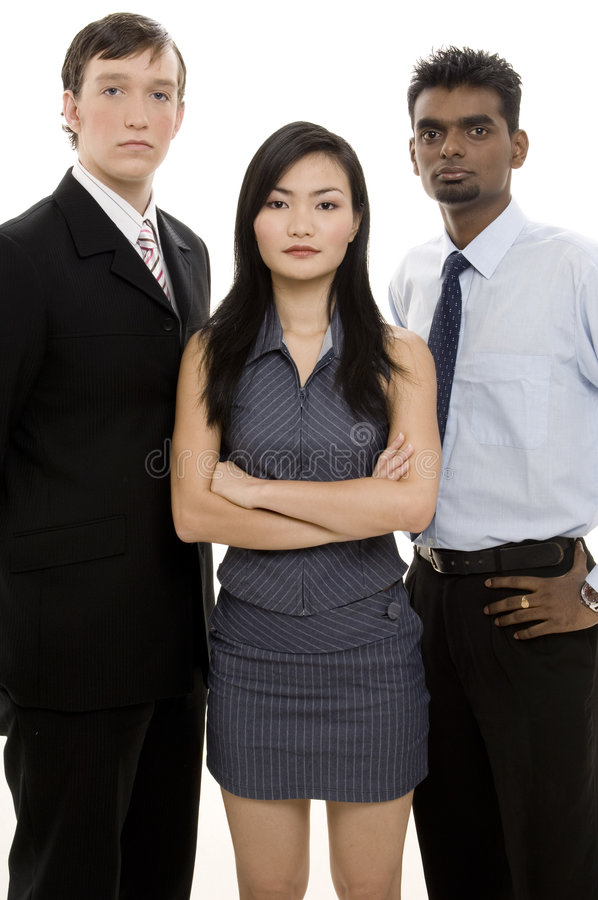 Diverse Business Team 3 royalty free stock images