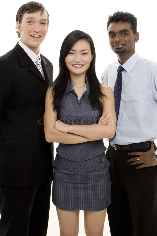 Download Diverse Business Team 4 stock image. Image of ethnic, formidable - 300931