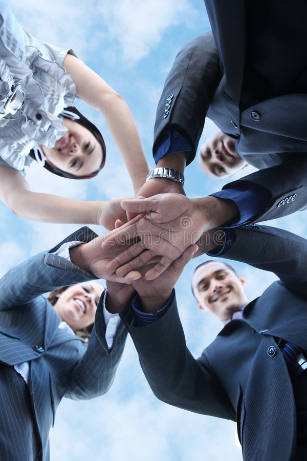 Diverse Business Team stock images