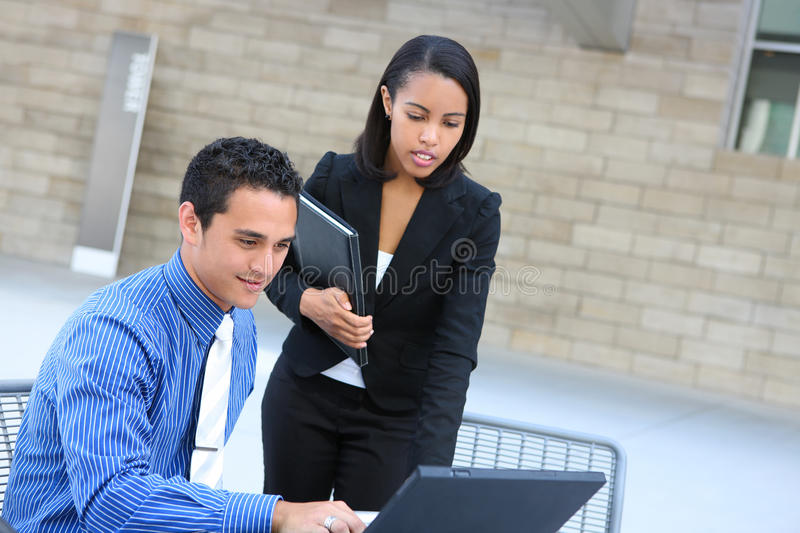 Download Diverse Business Team On Laptop Stock Image - Image: 11623939