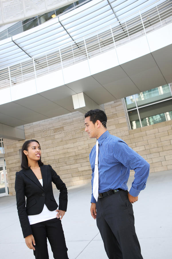 Download Diverse Business Team At Office Building Stock Image - Image: 21284209