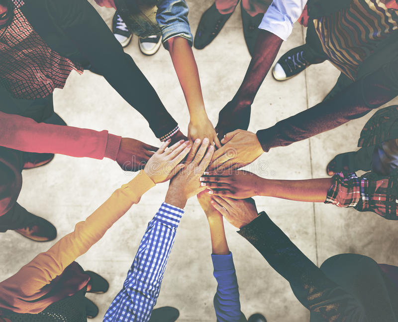 Diverse Diversity Ethnic Ethnicity Variation Unity Team Concept stock photography
