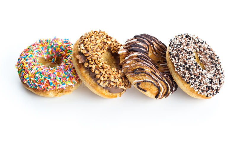 Diverse Donuts stock fotografie