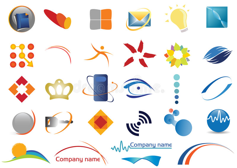 Diverse emblemen