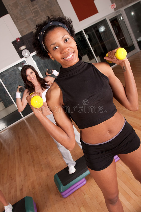 Download Diverse fitness class stock image. Image of club, activity - 9228245