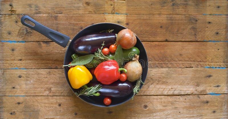 Diverse groenten stock foto's
