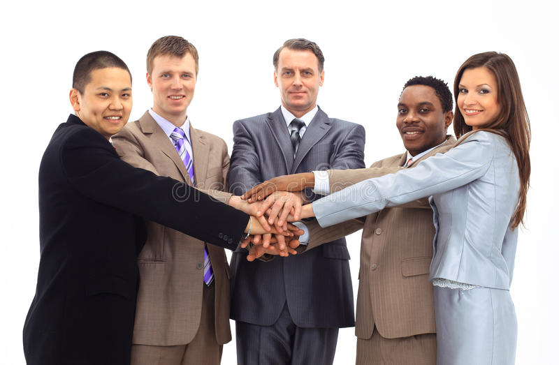 A diverse group of business royalty free stock photos