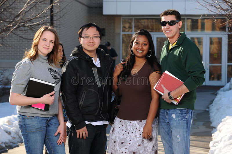 Download Diverse Group Of College Students Stock Image - Image: 23222773