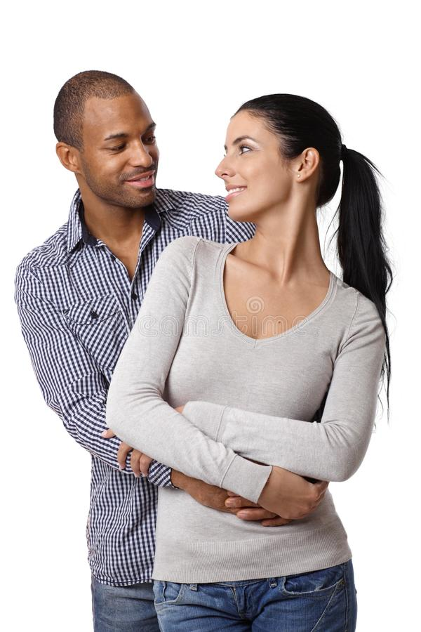 Download Diverse Loving Couple Smiling Royalty Free Stock Images - Image: 28890929