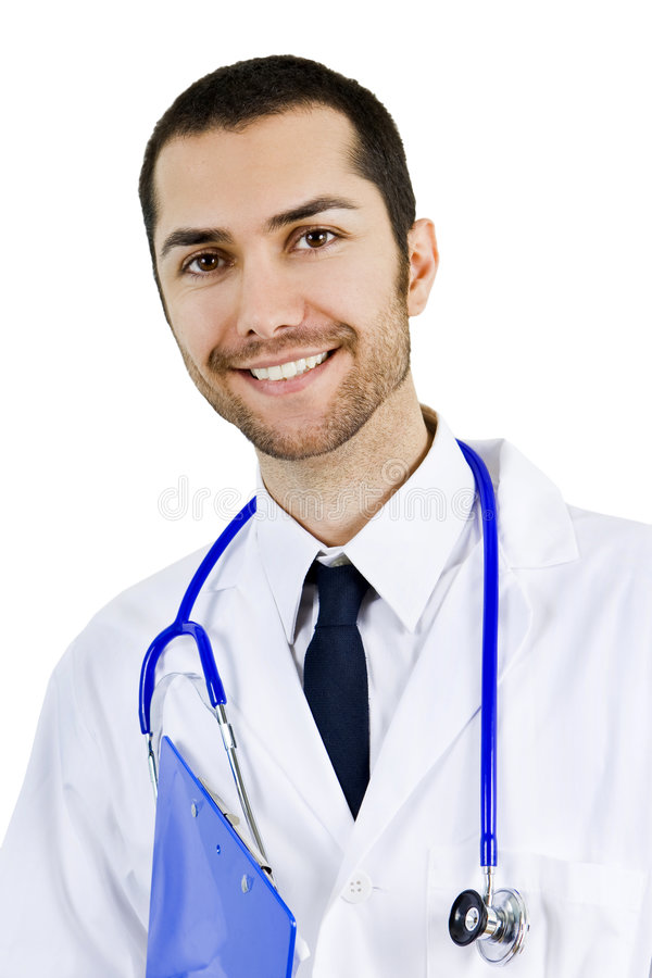 Diverse male doctor royalty free stock image