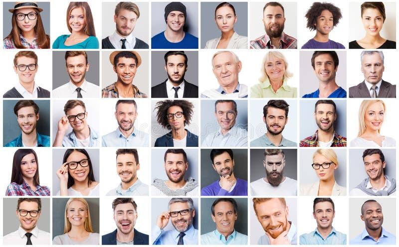 Diverse people. stock photos