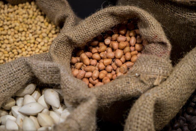 Diverse soorten Voedselingrediënt royalty-vrije stock afbeeldingen