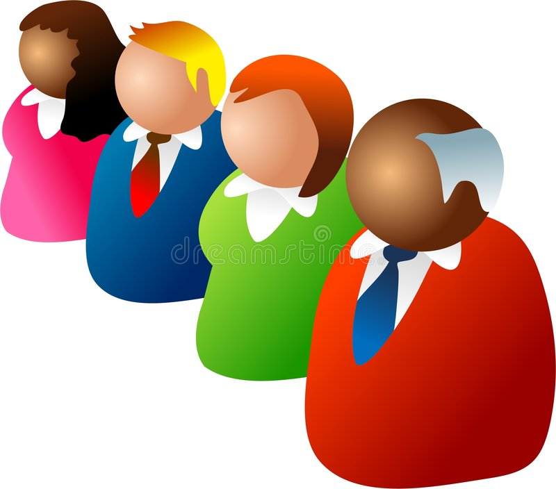 Download Diverse team stock illustration. Image of people, illustrations - 333850