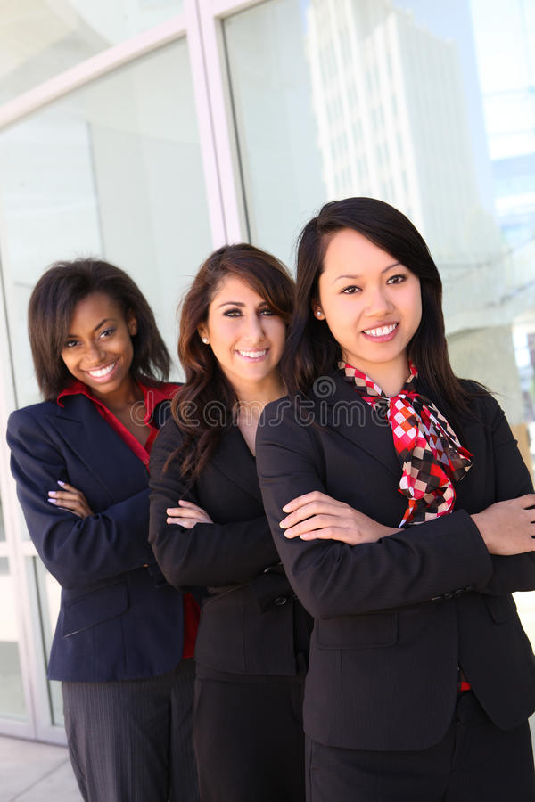 Diverse Woman Business Team Royalty Free Stock Photo