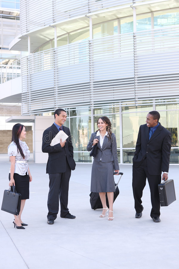 Diverse Young Business Team Royalty Free Stock Images