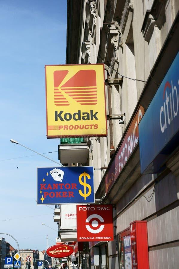 Diversehandeln Och Shoppar Redaktionell Bild