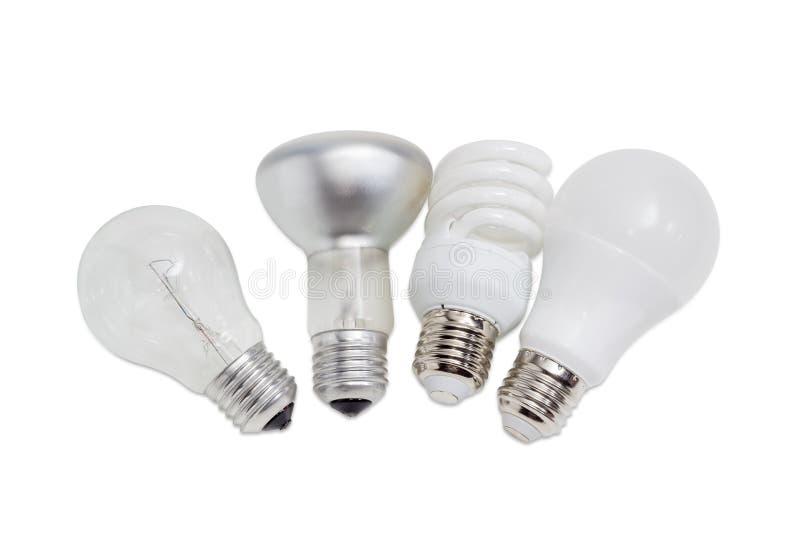 diverses lampes lectriques de diff rents types d. Black Bedroom Furniture Sets. Home Design Ideas