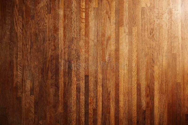 Diverses surfaces en bois texturisées riches réglées photo libre de droits