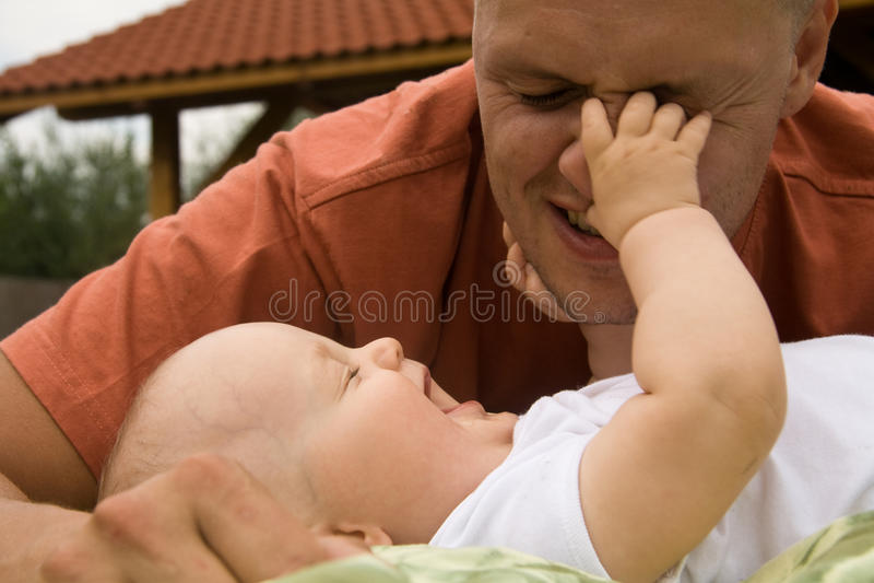 Diversión con el padre