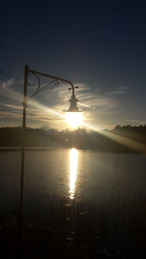 Diversión con el sol Ámelo fotografía de archivo