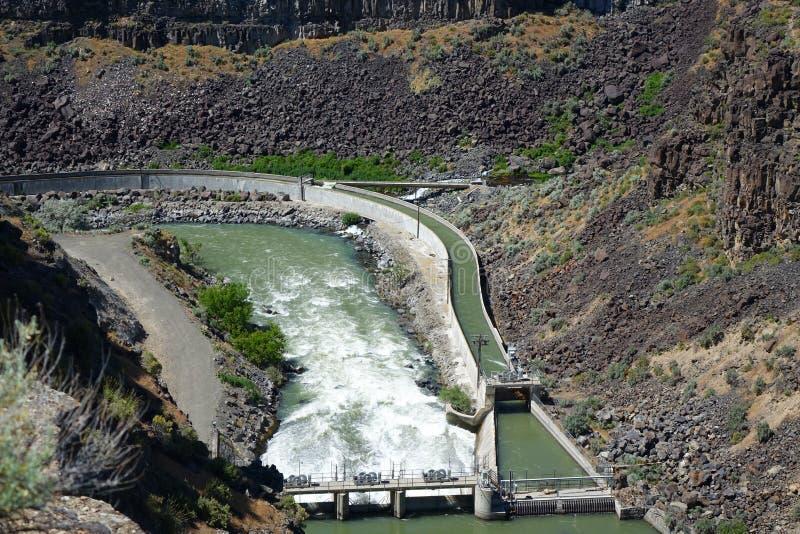Diversión de la irrigación - garganta de Malad fotos de archivo libres de regalías