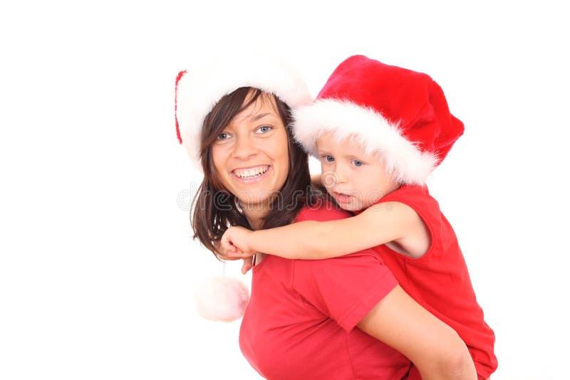 Diversión de la Navidad fotografía de archivo