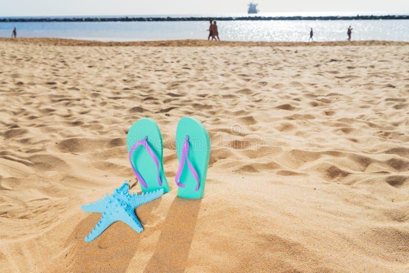Diversión de la playa del verano fotos de archivo