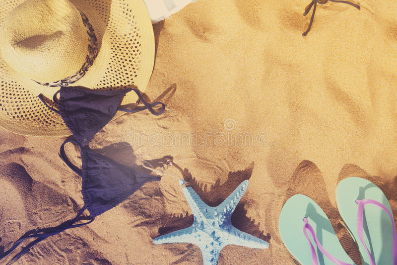 Diversión de la playa del verano imagen de archivo