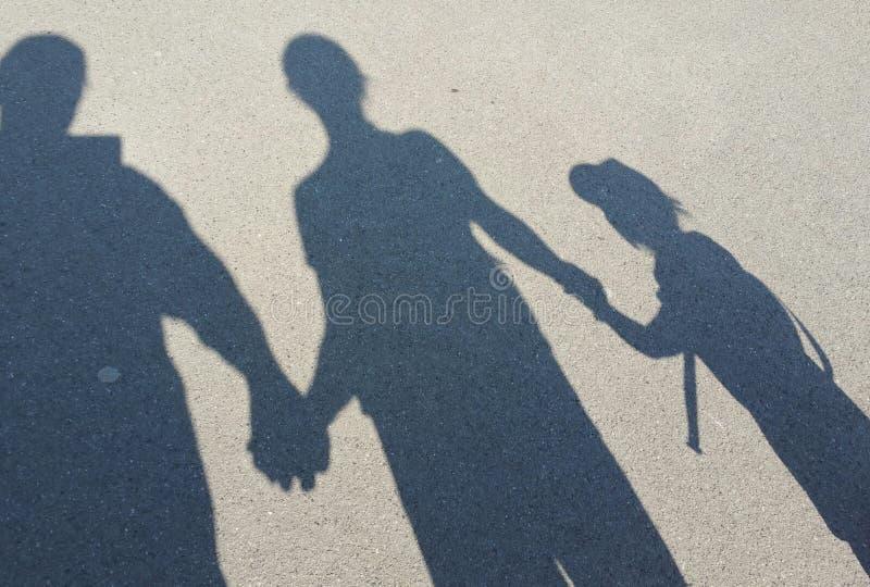 Diversión de la sombra imagen de archivo libre de regalías