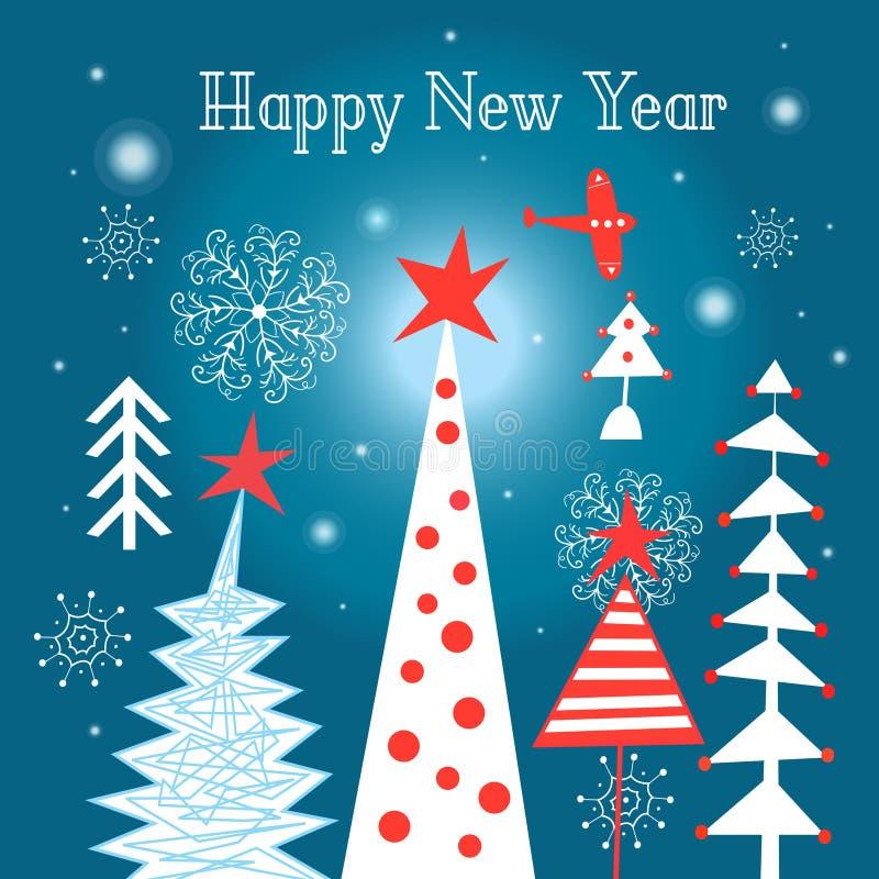 Diversión del árbol de navidad libre illustration