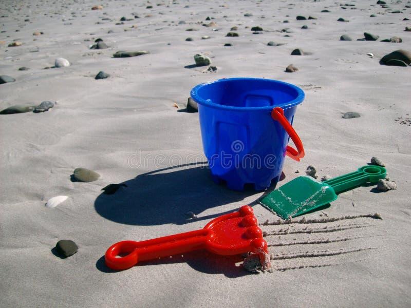 Diversión del día de fiesta de la playa fotos de archivo