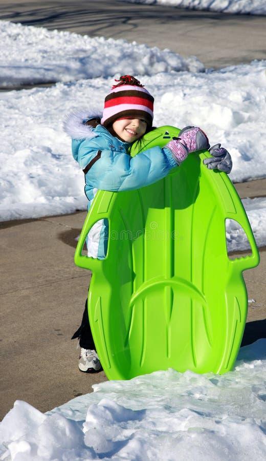 Diversión del invierno imagen de archivo libre de regalías