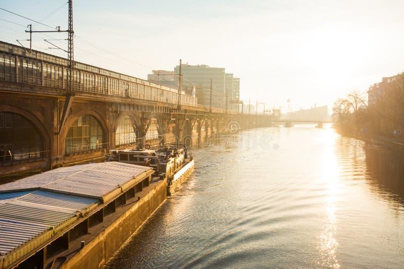 Diversión del río, Berlín fotos de archivo