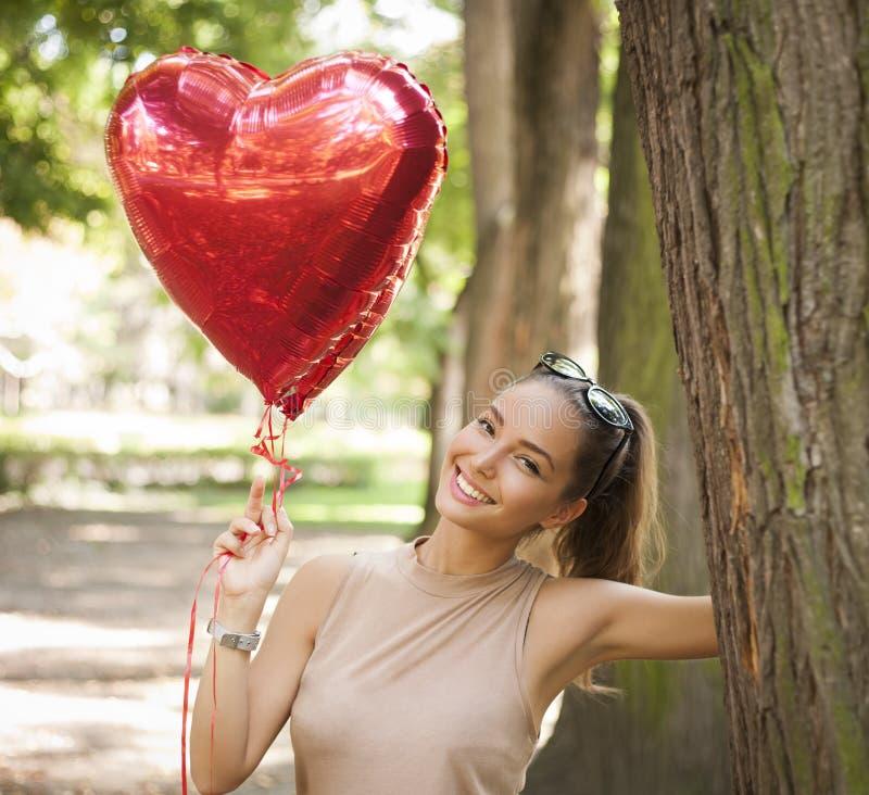 Diversión en forma de corazón fotografía de archivo libre de regalías