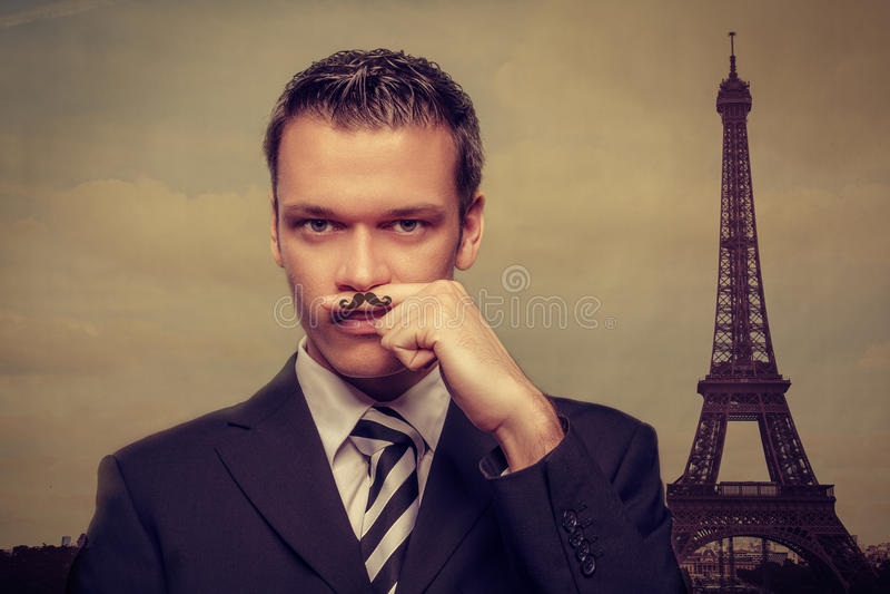 Diversión Francia imagenes de archivo