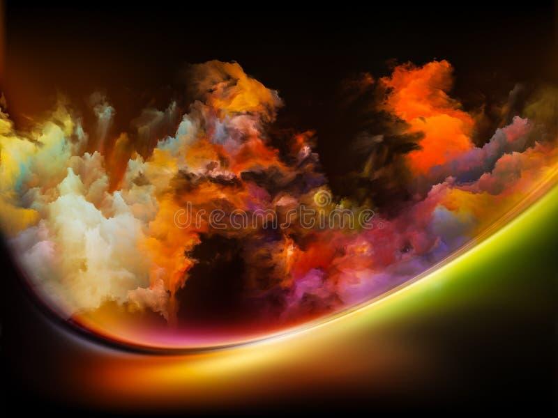 Diversidad de colores stock de ilustración