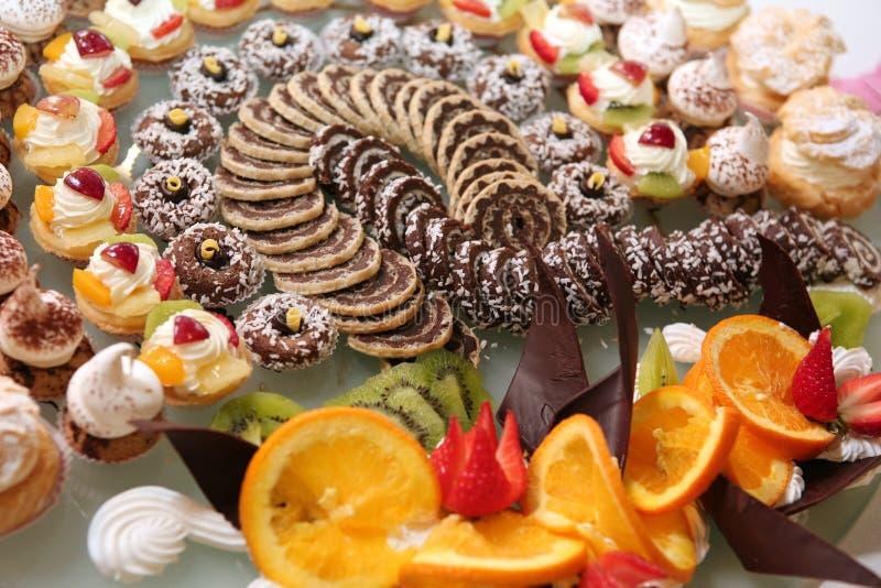 Diversidade da pastelaria imagem de stock