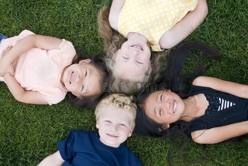 Diversidade na infância fotografia de stock
