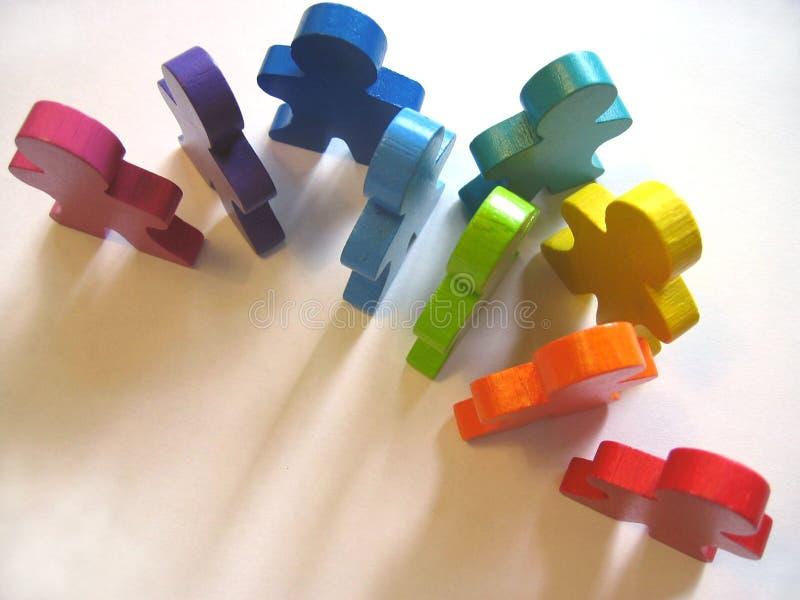 Diversidade no local de trabalho. fotografia de stock