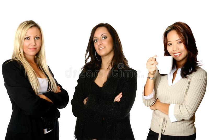 Diversidade três corporativa foto de stock