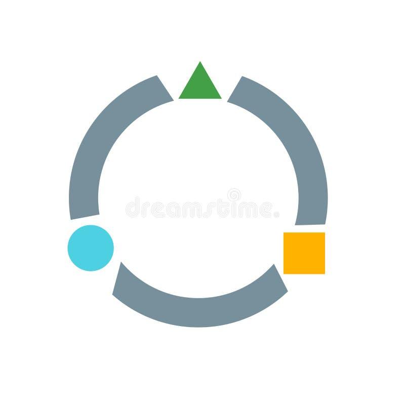 Diversifique el vector del icono aislado en el fondo blanco, diversifique la muestra libre illustration