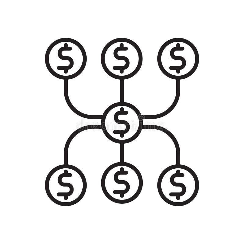 Diversifique el vector del icono aislado en el fondo blanco, diversifique la muestra, la muestra y los símbolos en estilo linear  stock de ilustración