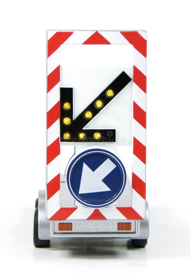 Download Diversion road sign stock image. Image of sign, blue - 21395507