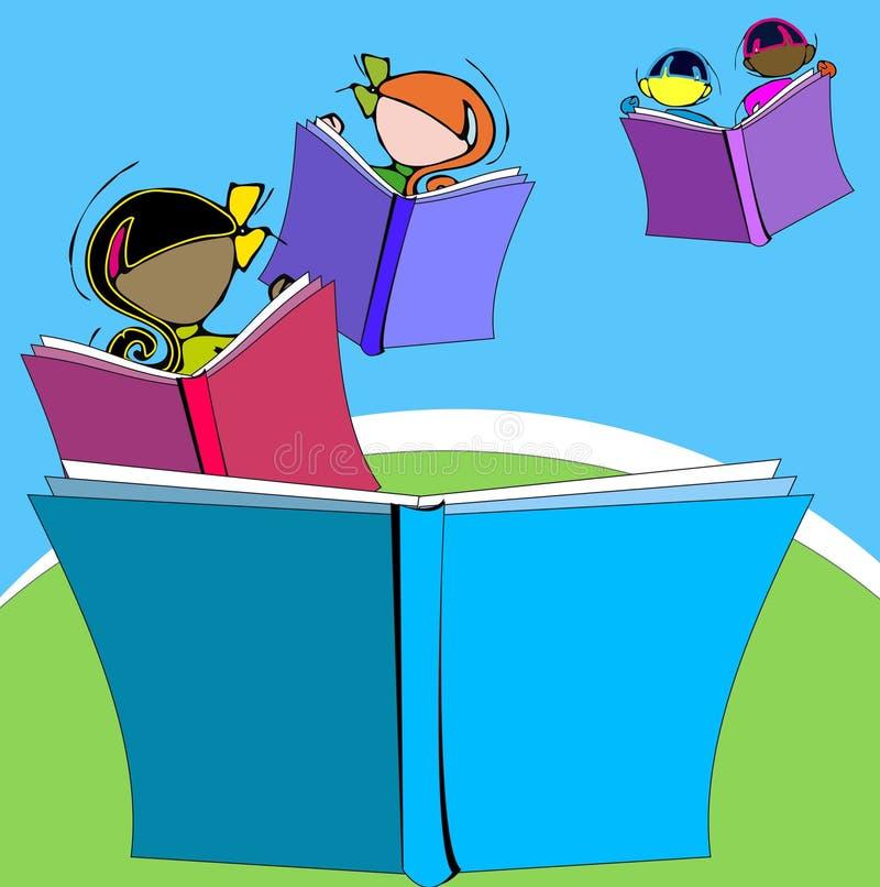 Diversità: bambini e istruzione illustrazione di stock