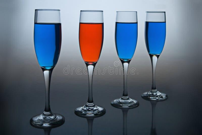 Diversità - Rosso E Blu Fotografia Stock Gratis