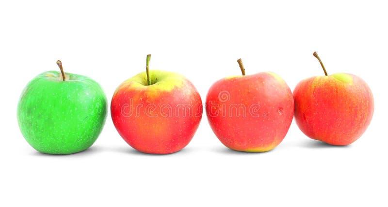 Diversité d'Apple image libre de droits