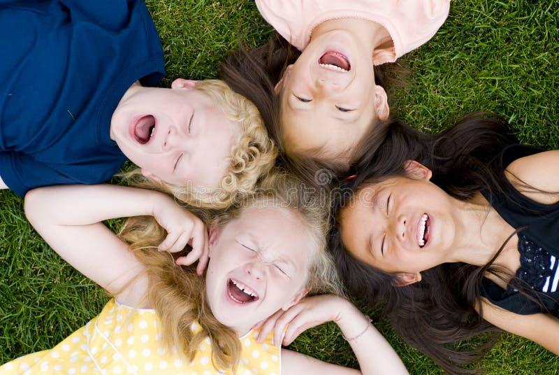 Diversité dans l'enfance photos stock